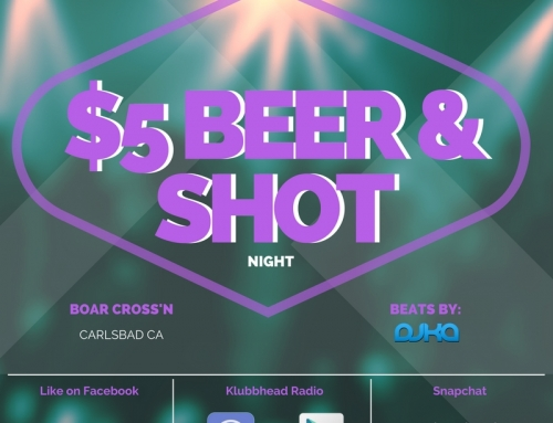 $5 Dollar Beer & Shot Night